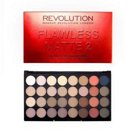 Makeup Revolution 32 Eyeshadow Palette Flawless Matte 2