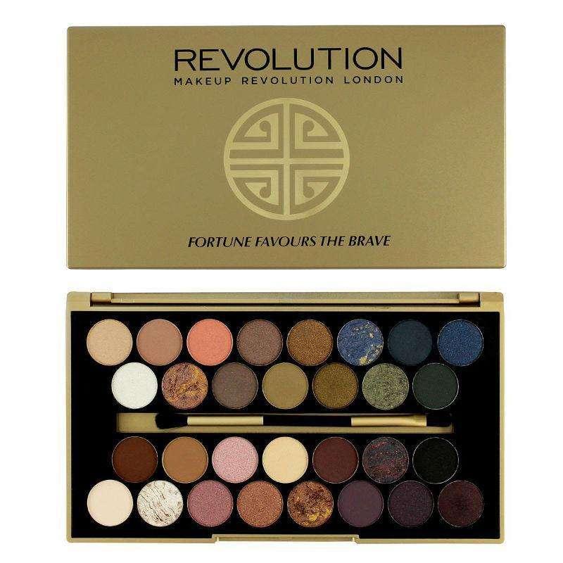 Makeup Revolution Fortune Favours The Brave Palette