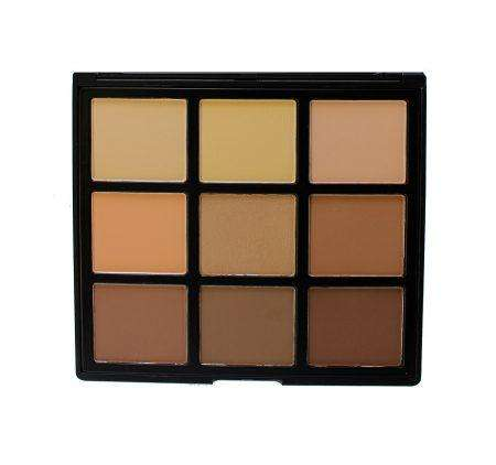 Morphe Brushes 9C 9 Color Highlight Contour Palette
