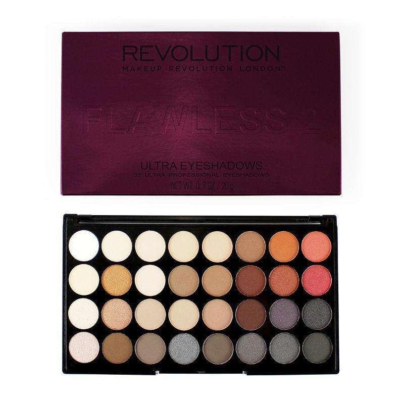 Makeup Revolution 32 Eyeshadow Palette FLAWLESS 2