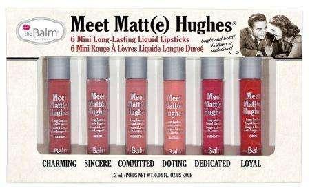 The Balm Meet Matte Hughes Mini Kit