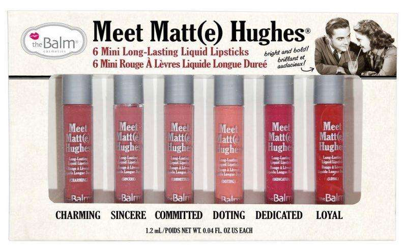 The Balm Meet Matte Hughes Mini Kit