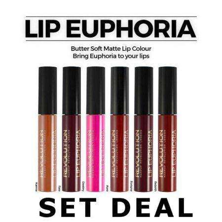 Makeup Revolution Lip Euphoria