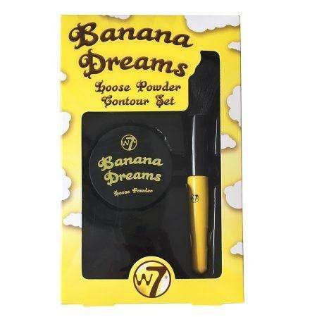 W7 Banana Dreams Loose Powder Contour Set