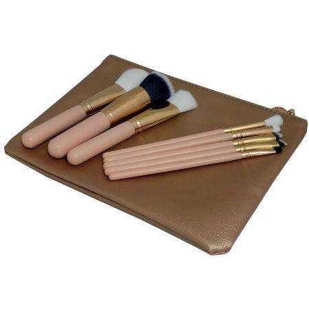 Gold Vegan Luxury Brush Set