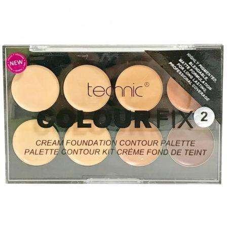 Technic Colour Fix 2 Cream Foundation Contour Palette