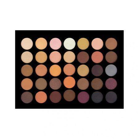Crown Brush 35 Colour Nude Eye Shadow Palette