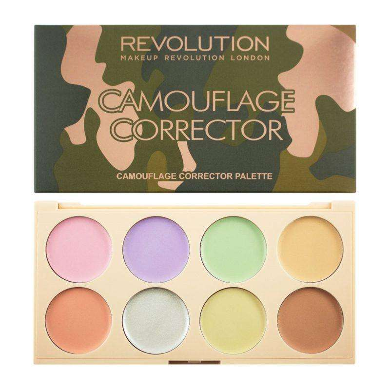 Camouflage Corrector Palette