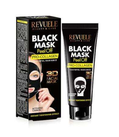 REVUELE BLACK MASK Peel Off Pro Collageen