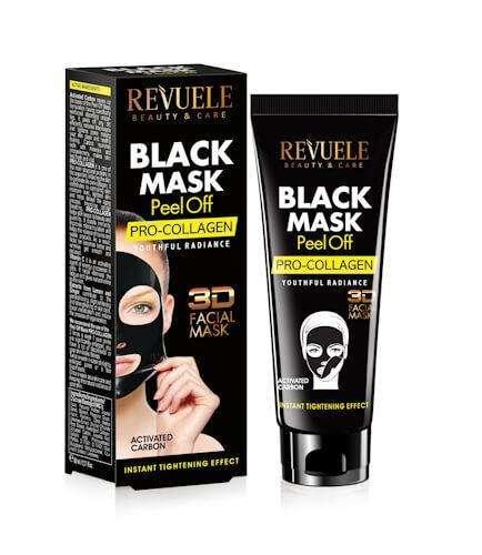 REVUELE BLACK MASK Peel Off Pro Collageen