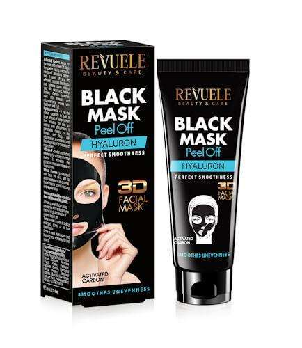 REVUELE BLACK MASK Peel Off Hyaluron