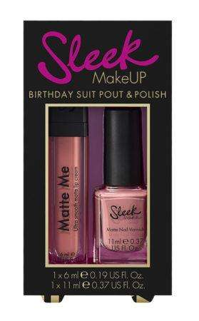 Sleek MakeUP Birthday Suit Pout and Polish