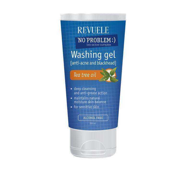 Revuele No Problem Cleanser Gel met Tea Tree Oil