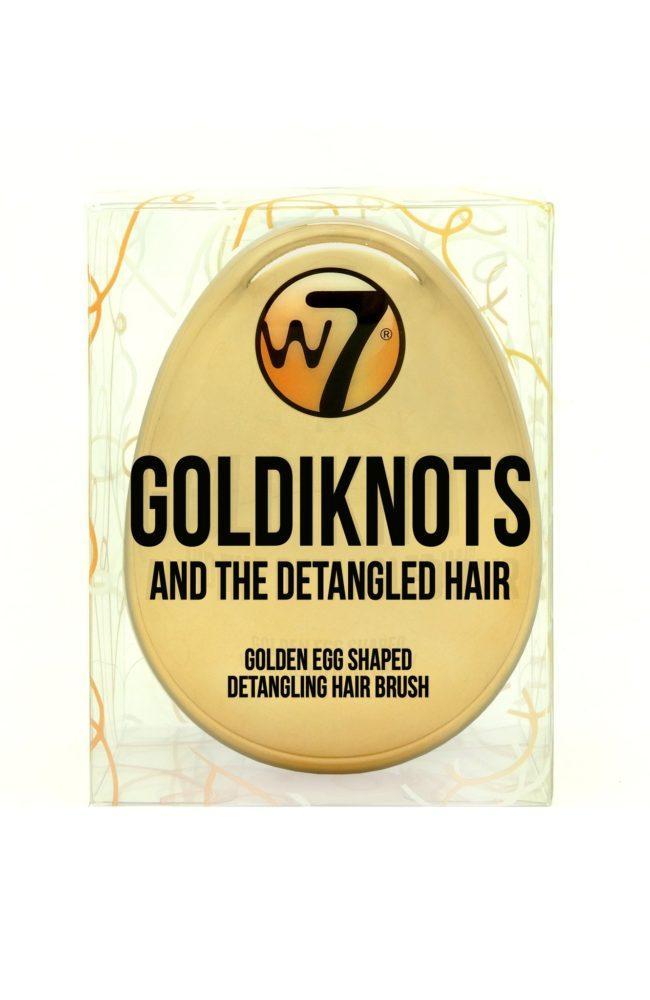 W7 Goldiknots Detangling Hair Brush