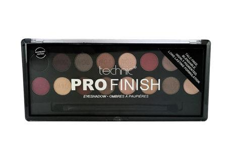 Technic Pro Finish Eyeshadow Palette Raspberry Edition