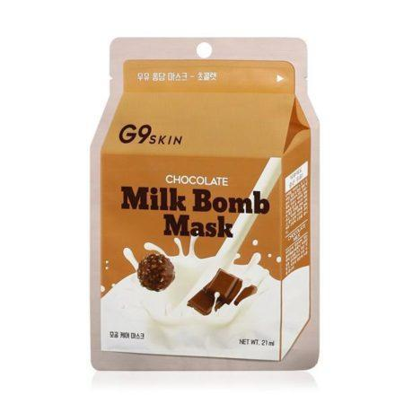 G9 Skin Milk Bomb Mask CHOCOLATE