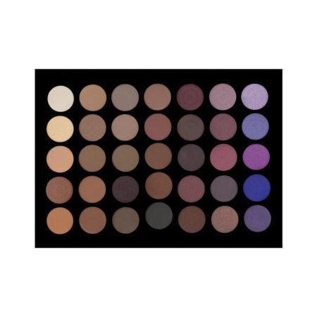 Crown Brush 35 Colour Purple Haze Eyeshadow Palette