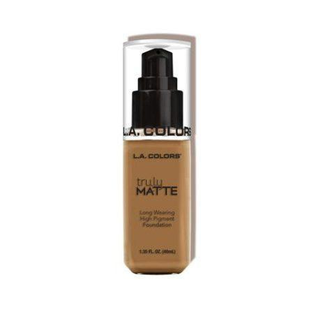LA Colors Truly Matte Foundation Warm Caramel