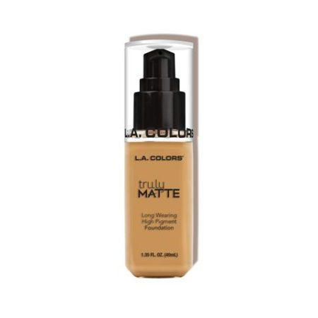LA Colors Truly Matte Foundation Golden Beige