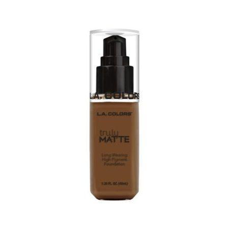 LA Colors Truly Matte Foundation Mahogany