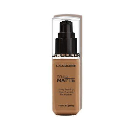 LA Colors Truly Matte Foundation Deep Tan