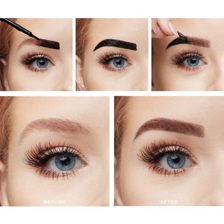 Makeup Revolution Brow Tint Taupe kopen   Peel Off Brow ...