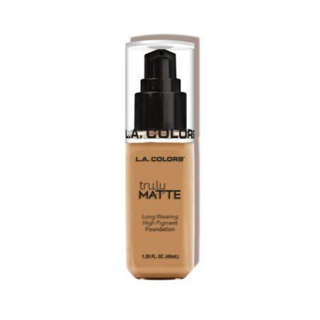 LA Colors Truly Matte Foundation Warm Honey