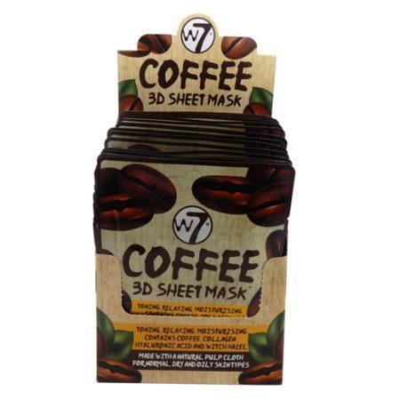 W7 3D Sheet Mask Coffee