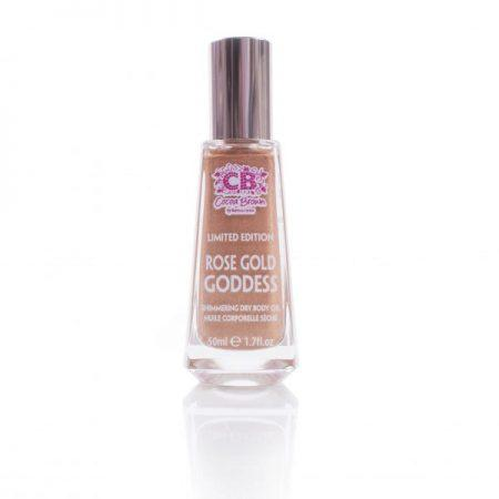 Cocoa Brown ROSE GOLD GODDESS Shimmer Oil