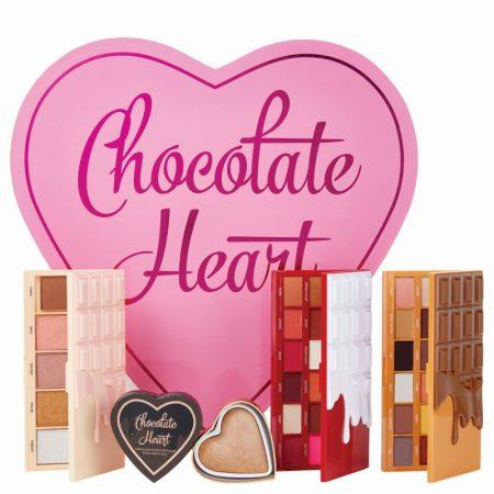 I Heart Revolution Chocolate Heart Makeup Gift Set