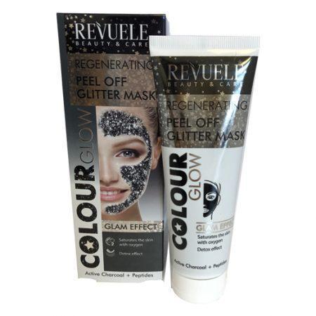 Revuele Peel Off Glitter Mask Black