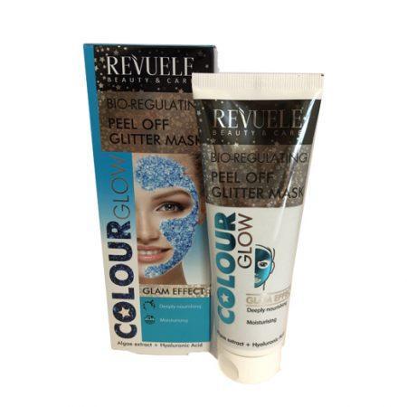 Revuele Peel Off Glitter Mask Blue