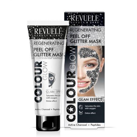 Revuele Peel Off Glitter Mask Black
