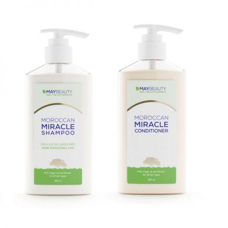 MayBeauty Moroccan Miracle Shampoo en Conditioner