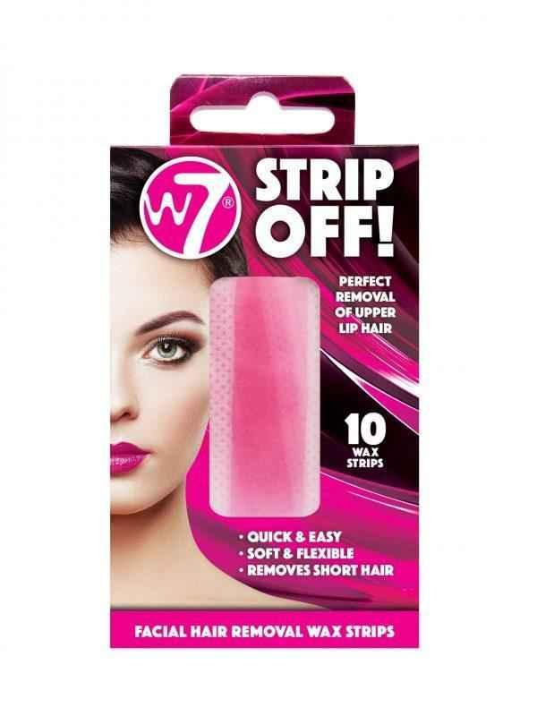 W7 Strip Off Wax Strips