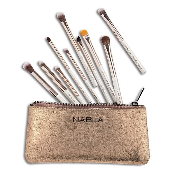 NABLA White Rose Eye Brush Set