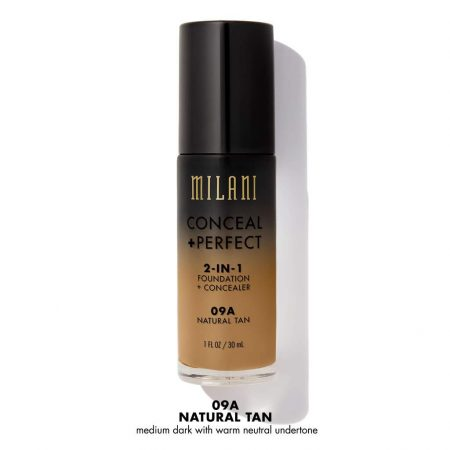 Milani Foundation Concealer 09A Natural Tan