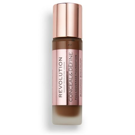 Revolution Conceal and Define Full Coverage Foundation F17