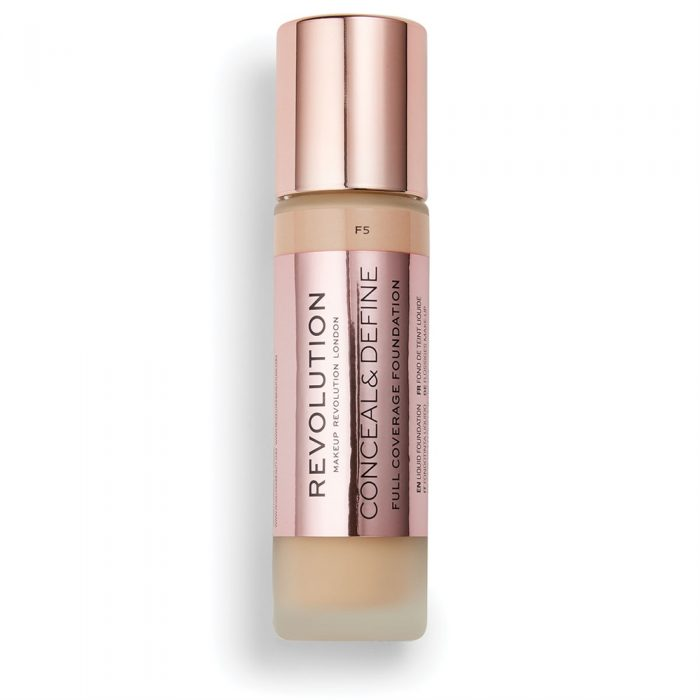 Revolution Conceal and Define Full Coverage Foundation F5