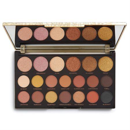 Revolution Jewel Collection Eyeshadow Palette Gilded