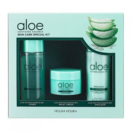 Holika Holika Aloe Soothing Essence Skin Care Special Kit