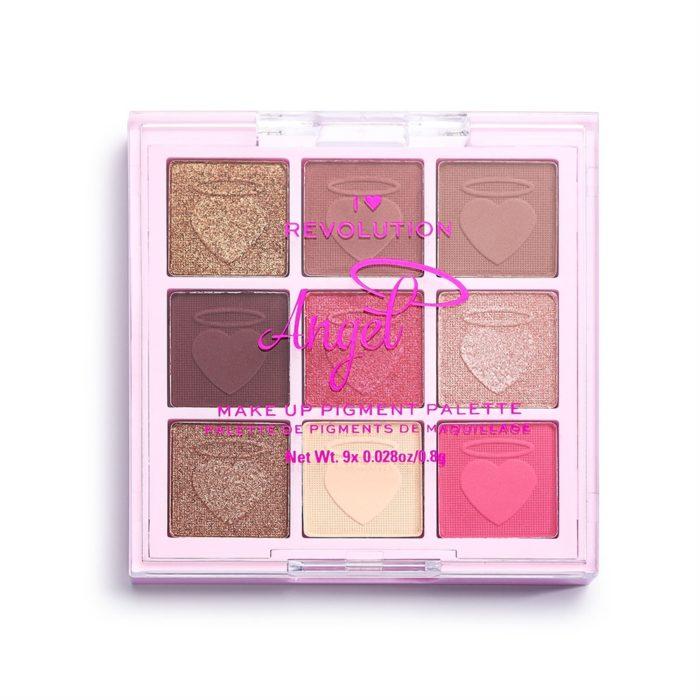 I Heart Revolution Fantasy Makeup Pigment Palette Angel