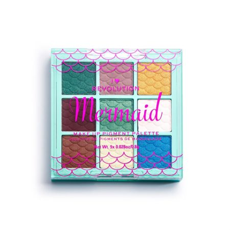 I Heart Revolution Fantasy Makeup Pigment Palette Mermaid