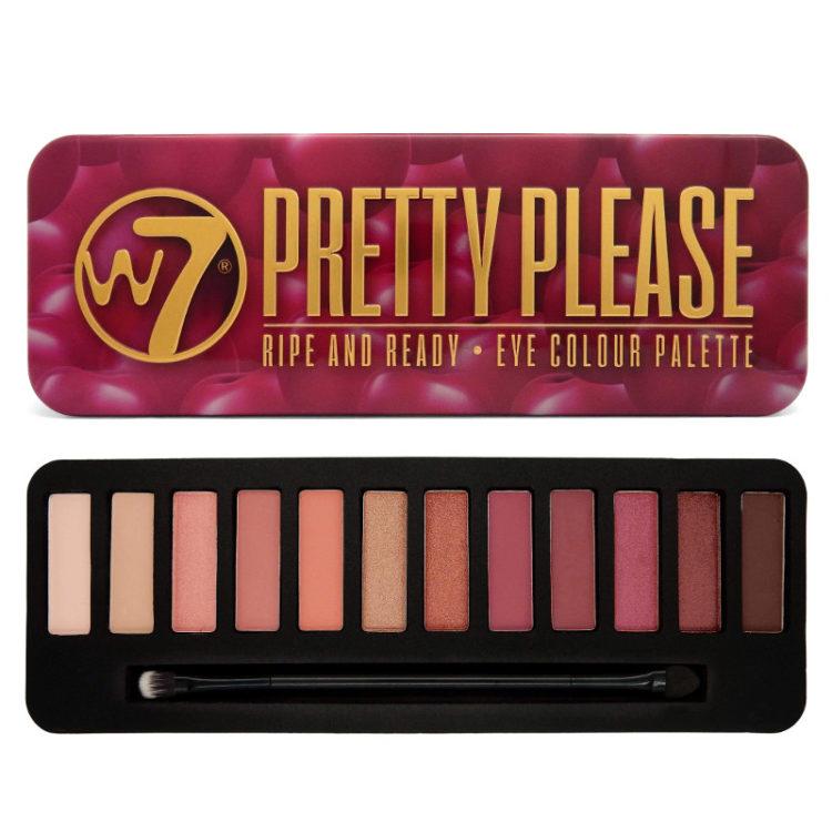 W7 Pretty Please Eyeshadow Palette
