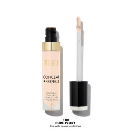 Milani Conceal + Perfect Longwear Concealer Pure Ivory