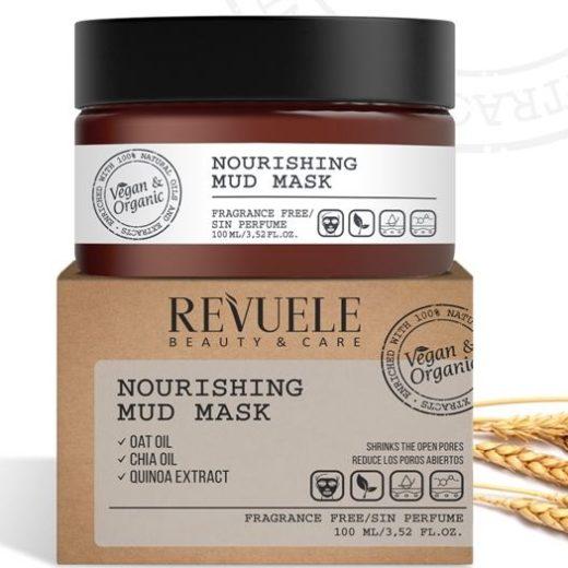 Revuele Vegan & Organic - Nourishing Mud Mask