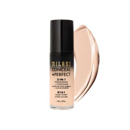 Milani Foundation Concealer 01A1 Nude Ivory