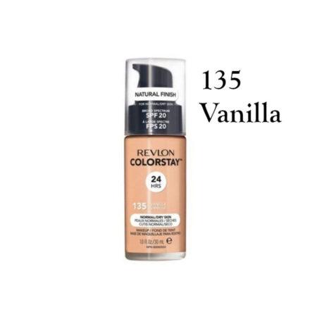 Revlon Colorstay Foundation 135 Vanilla