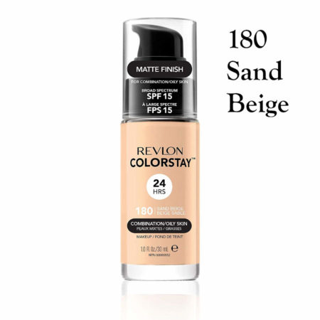 Revlon Colorstay Foundation 180 Sand Beige