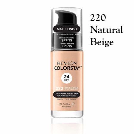 Revlon Colorstay Foundation 220 Natural Beige